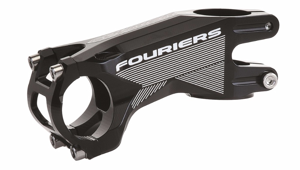 FOURIERS Bicycle AL6061-T6 Full CNC MTB Stem 60/70/80/90/100mm 17degree 31.8 Ultralight Bike Stem Accessories Cycling Stem Part