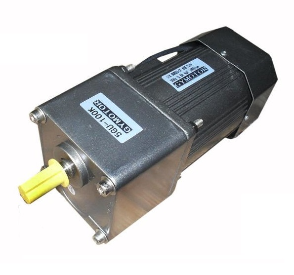 AC 220V 250W Single phase Constant speed motor with gearbox. AC 220V gear motor, цена 2017