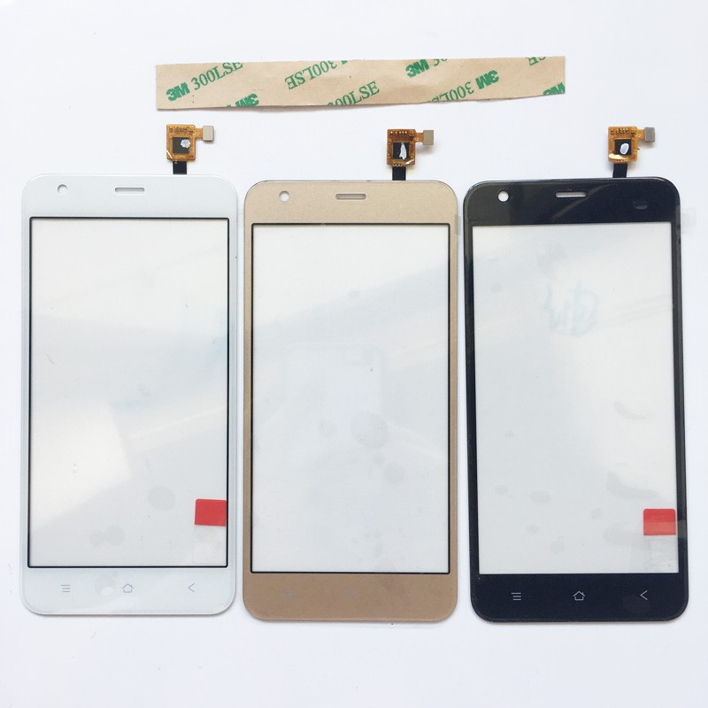 Touch Screen For BlackView A7 Pro Touch Screen Lens Sensor Front Glass Touch Digitizer Lens+ 3M Tape