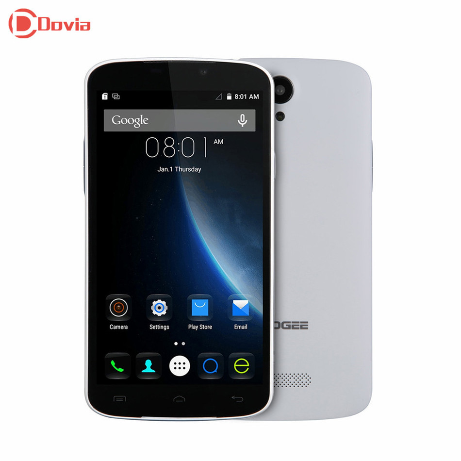 Original DOOGEE X6 Pro 5 5 inch Cell Phone Android 5 1 MT6735 Quad Core Mobile