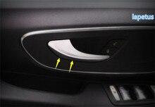 Lapetus Vorne Innen Tür Griff Dekoration Rahmen Abdeckung Kit Für Mercedes-Benz Vito W447 2014 2015 2016 2017 2018 ABS Chrom Matt