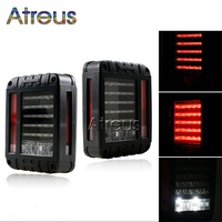 1Pair LED Reverse Brake Tail Lights With EU US Standard Plugs Car Light Replacement Light For