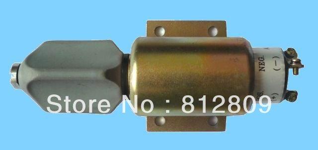 shutdown solenoid for SA-3838 (24v),Free fast  shipping 3924450 2001es 12 fuel shutdown solenoid valve for cummins hitachi