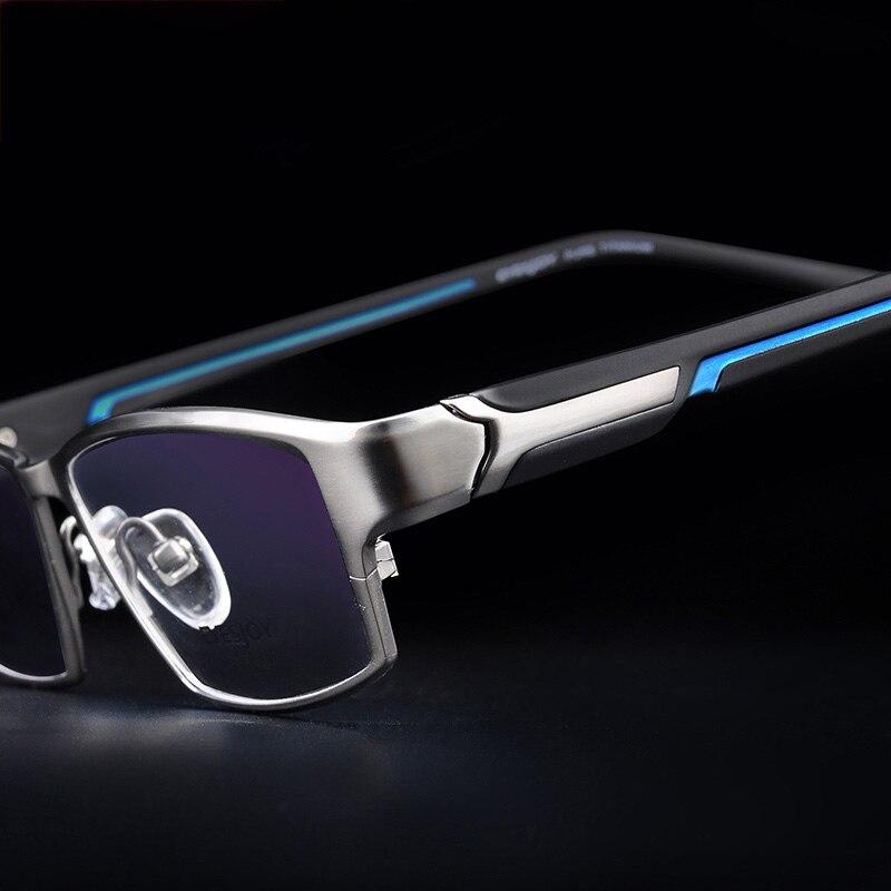 Vazrobe titane lunettes cadre hommes lunettes homme jante complète Ultra léger Prescription lunettes hommes reçus Points
