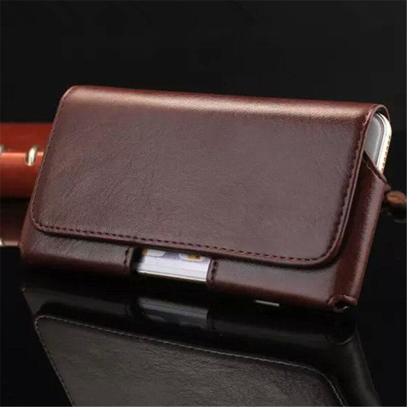 Alta calidad de la PU Leather Belt Clip bolsa del teléfono del bolso para el iPh