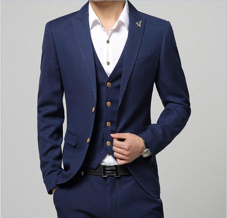 Aliexpress.com : Buy (Jacket Vest Pants) 2015 New Arrival Brand ...