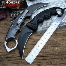 Lcm66 faca dobrável karambit, faca dobrável, presente, faca tática de bolso, ferramenta de autodefesa de batalha ao ar livre