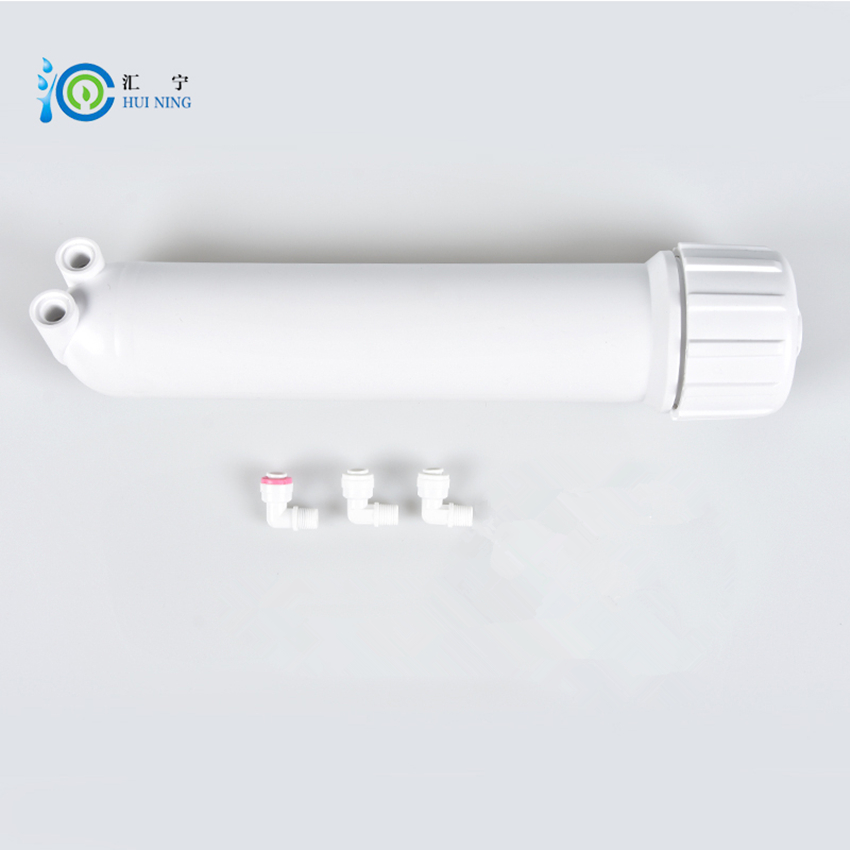 75G/100G Reverse Osmosis 1812 ro membrane shell Water Filter Parts and Water Filter Connector with 3 Pcs Elbow water filter 75g ro membrane and membrane housing with connector and wrench for reverse osmosis water purifier