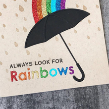 JC Metal Cutting Dies for Scrapbooking Cut Rainbows Craft Umbrella Stencil Card Making Model Template Decor 2019 New Die