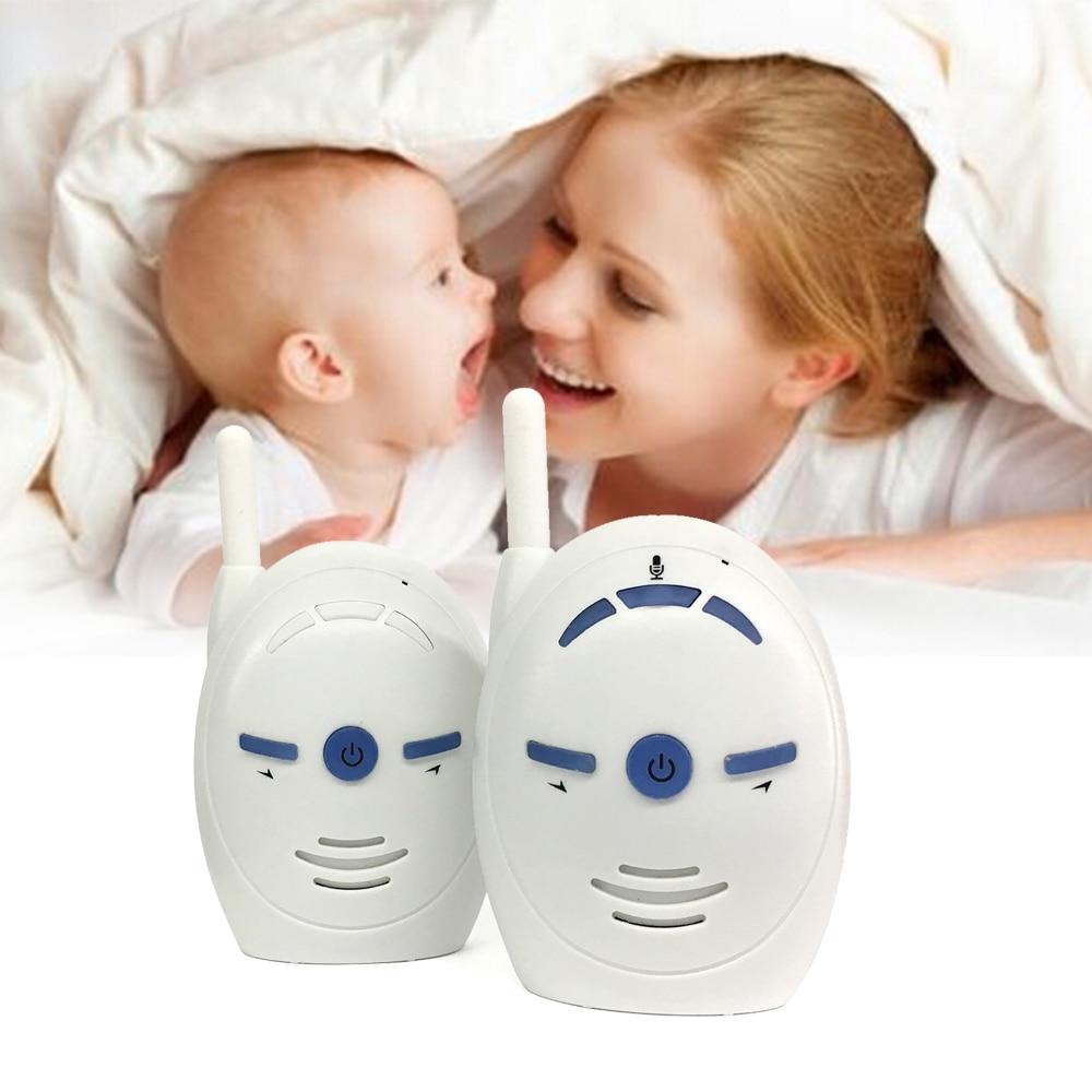 CYSINCOS 2.4GHz Wireless Infant Baby Portable Digital Audio Baby Monitor Sensitive Transmission  Talk  Voice
