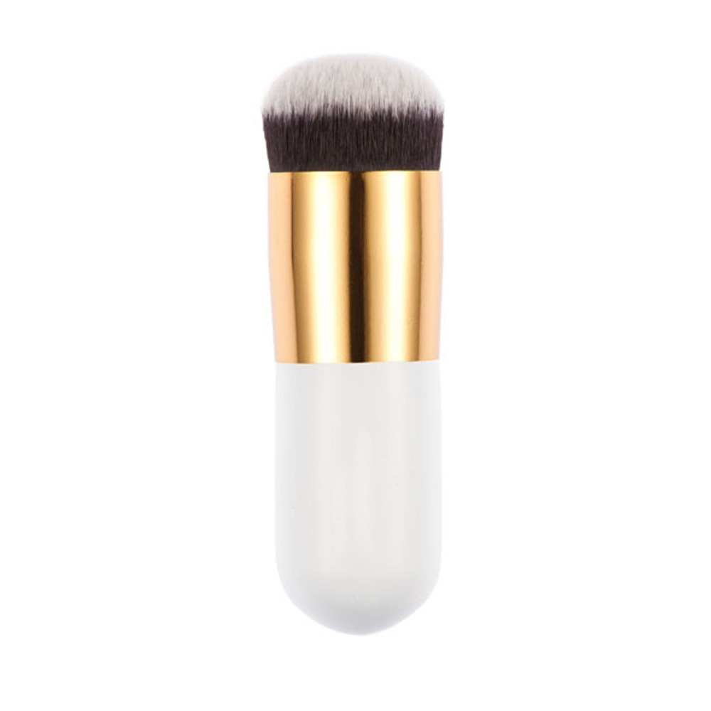1 PCS Profesional Putaran Datar Fead Makeup Brush untuk Yayasan Basis BB cream Kosmetik Yayasan Brushes Alat