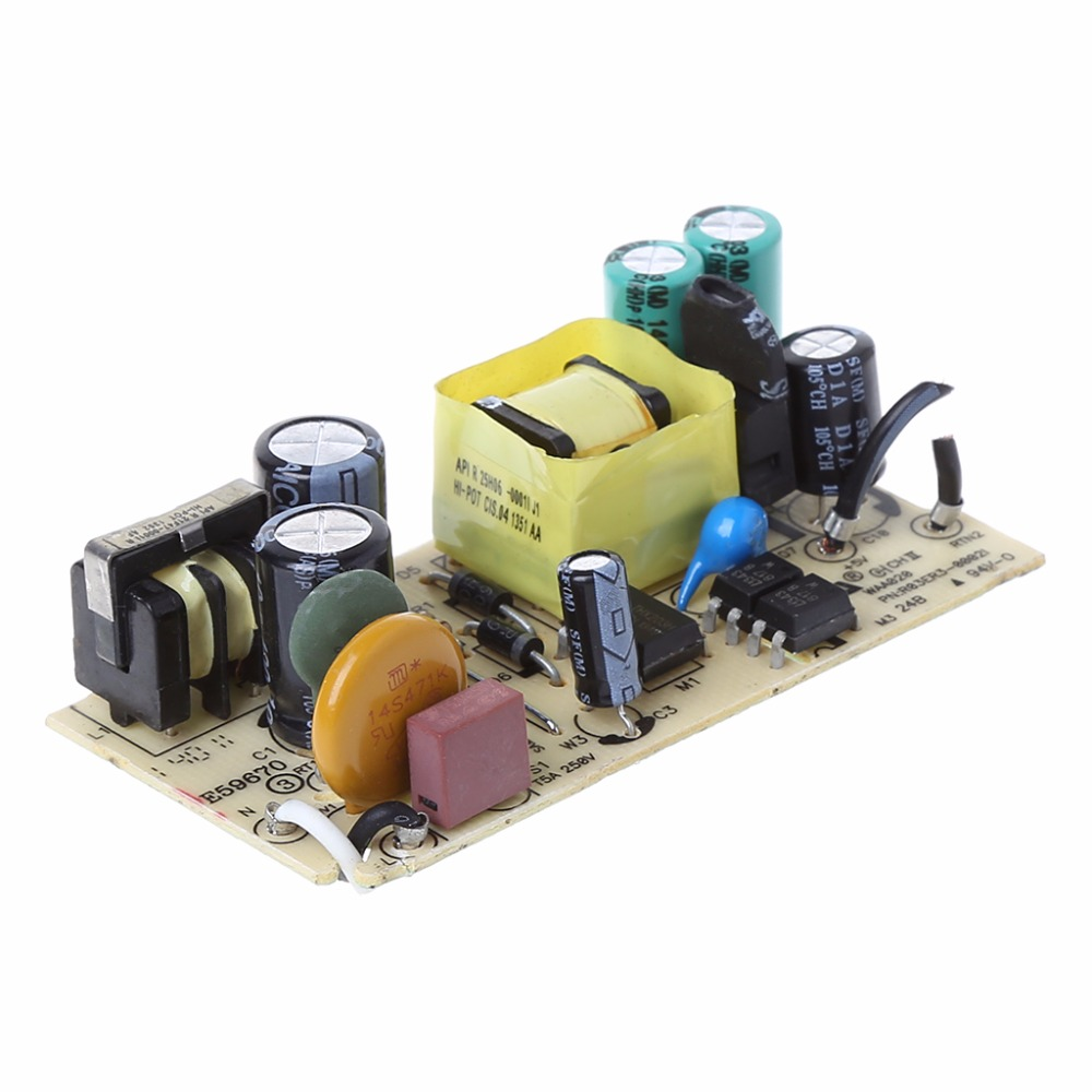 AC-DC 100-240V To 5V 2A 2000MA Switching Power Supply Replace Repair Module W315 ac dc 12v 2a 24w switching power supply module bare circuit 100 240v to 12v board for replace repair