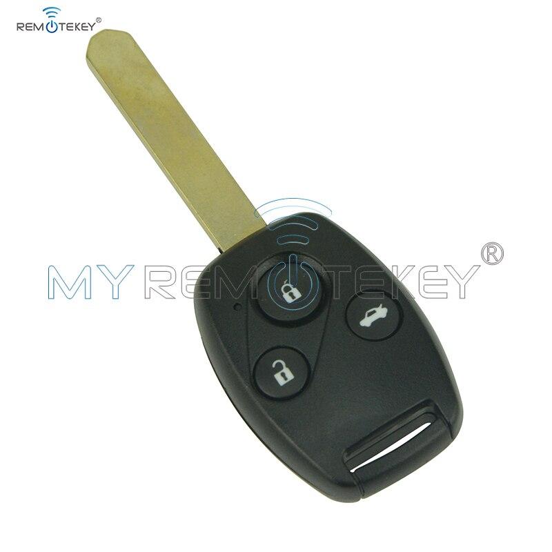 Distance tête de la clé VDO 72147-TAO-W2 433 Mhz HON66 3 bouton pour Honda Accord 2008 2009 2010 2011 remtekey