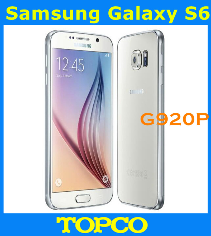 Samsung Galaxy S6 G920P Sprint G920V Verizon Original Unlocked 4G GSM Android Mobile Phone Octa