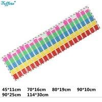 Multicolors Colors W45 W90 W70 W80 W90 W114 Flash Car Sticker Music Rhythm LED EL Sheet