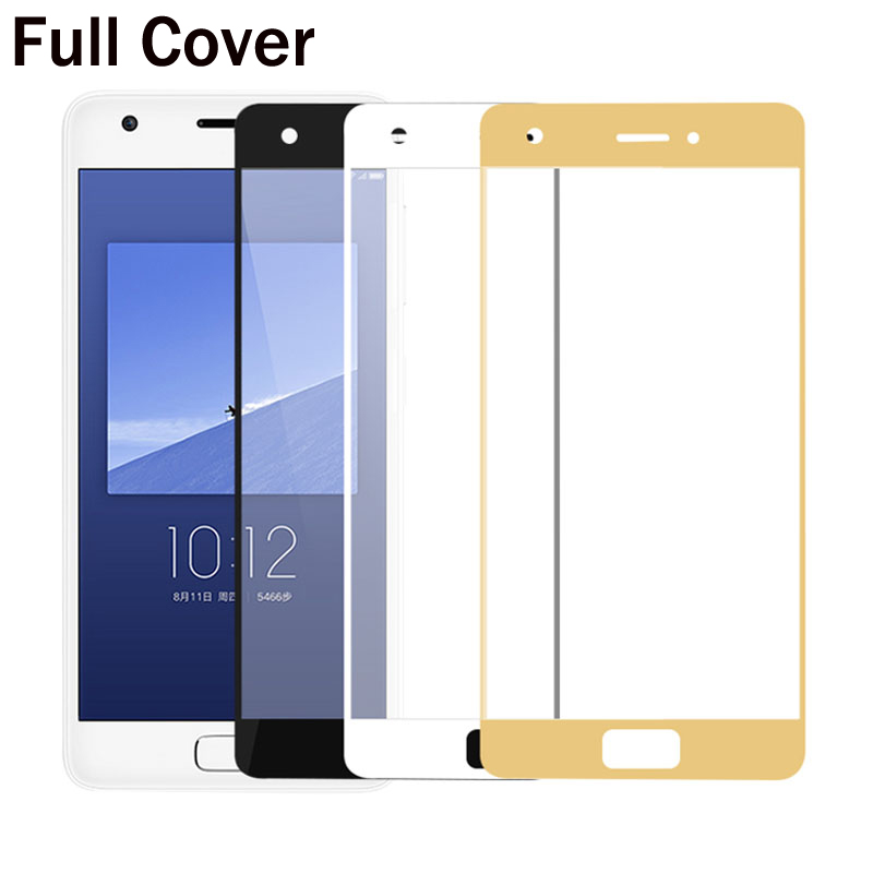 GerTong Full Cover Glass Screen Protector For Lenovo ZUK Z2 Z2 Pro Z2Pro Tempered Glass Protective Case Explosion Proof Film
