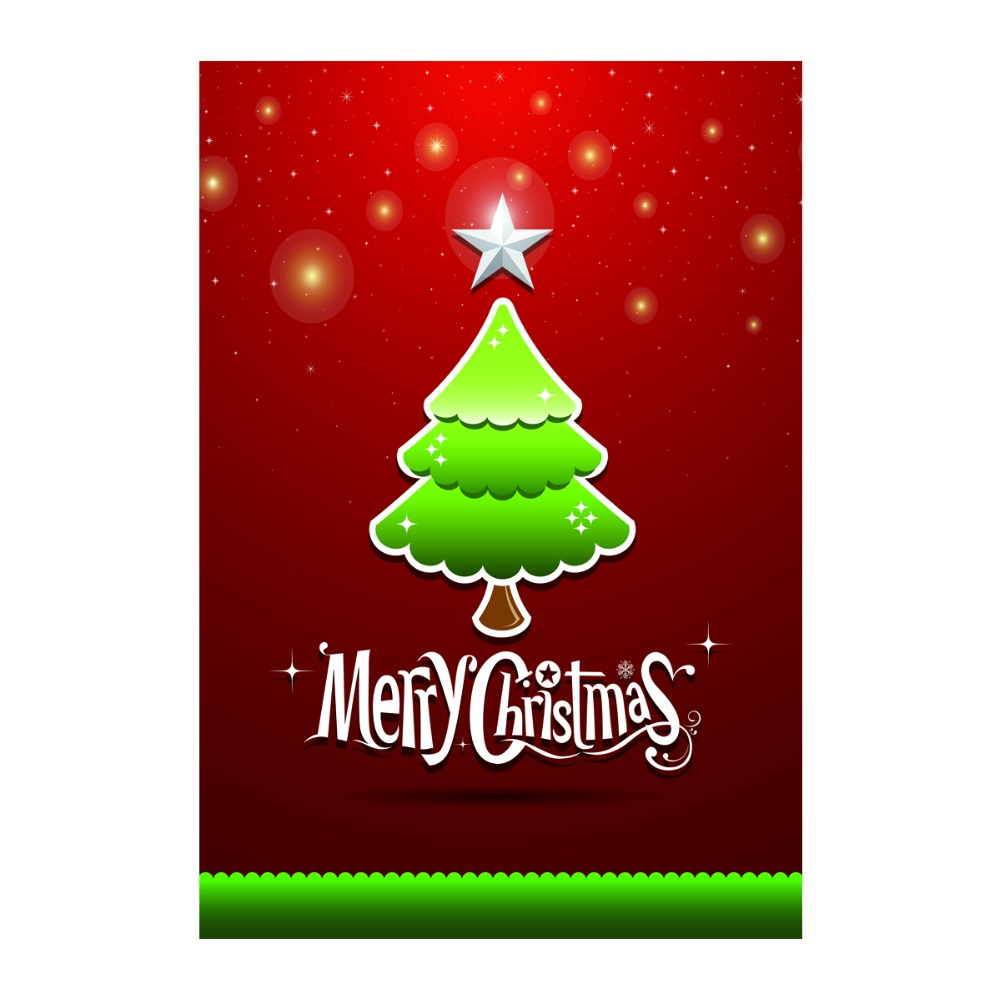 Christmas Tree Decorative Outdoor And Indoor Flags 100% Polyester Custom  Personalized Garden Flags Banner Home Yard Flags