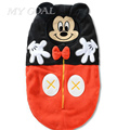 Baby Sleeping Bag Cartoon Minnie Envelope Baby Winter Sleep Sack Coral Fleece Infant Swaddle Blankets