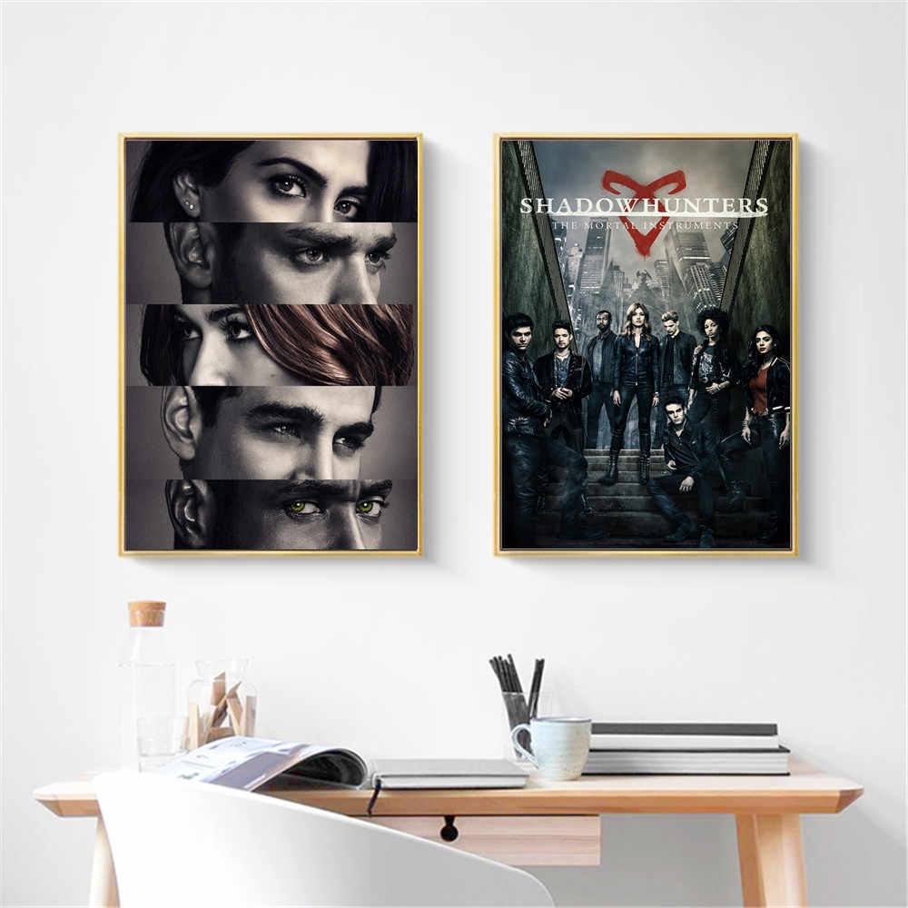 Shadowhunters The Mortal Instruments Posters And Prints Canvas Art Painting Wall Pictures For Living Room Decoration Home Decor