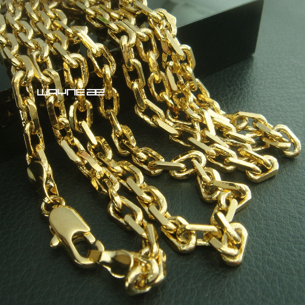 (n286) Men  classic chains  Necklace long chain jewelry 50cm 60cm