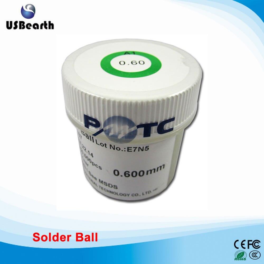 PMTC 250k leaded solder balls 0.6MM for BGA rework reballing садовая химия