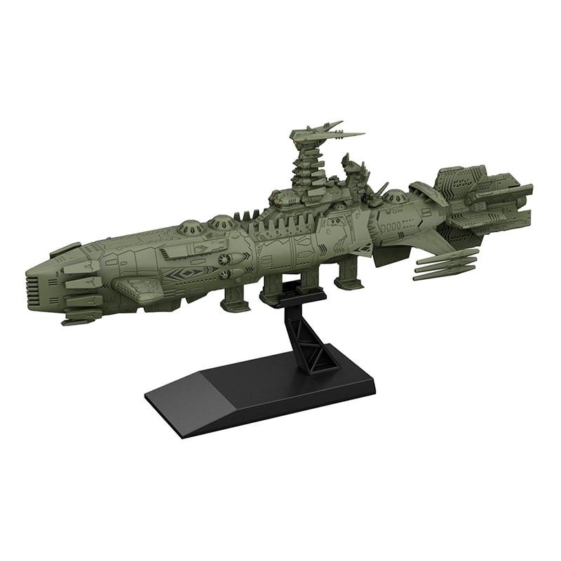 Original Bandai Space Battleship 2202 Yamato MECHA Karakrum Class PVC Assembled model doll toy
