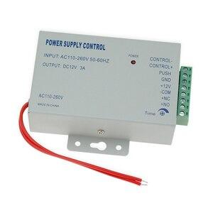 Image 4 - RFID Dokunmatik Su Geçirmez Metal Erişim Denetleyici Sistemi ile 12VDC NC/NO Elektrikli Cıvata Kilit/Manyetik Kilit güvenlik kapısı