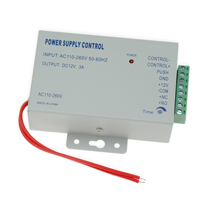 Image 4 - RFID сенсорная Водонепроницаемая металлическая система контроля доступа с 12 В постоянного тока NC/без электрического болтового замка/магнитный замок для двери безопасности