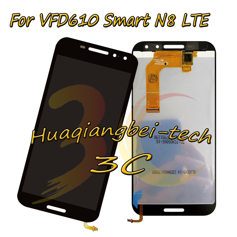 5.0 New Black For Vodafone VFD610 Smart N8 LTE VFD-610 Full LCD DIsplay + Touch Screen Digitizer Assembly 100% Tested 5.0 New Black For Vodafone VFD610 Smart N8 LTE VFD-610 Full LCD DIsplay + Touch Screen Digitizer Assembly 100% Tested