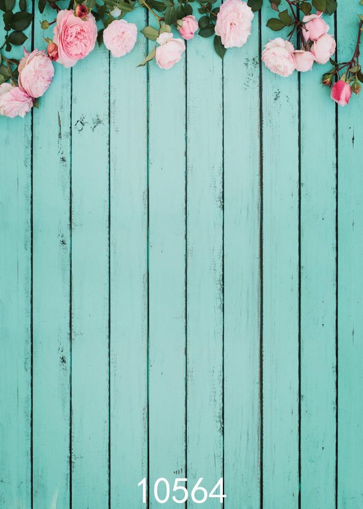 turquoise flower background