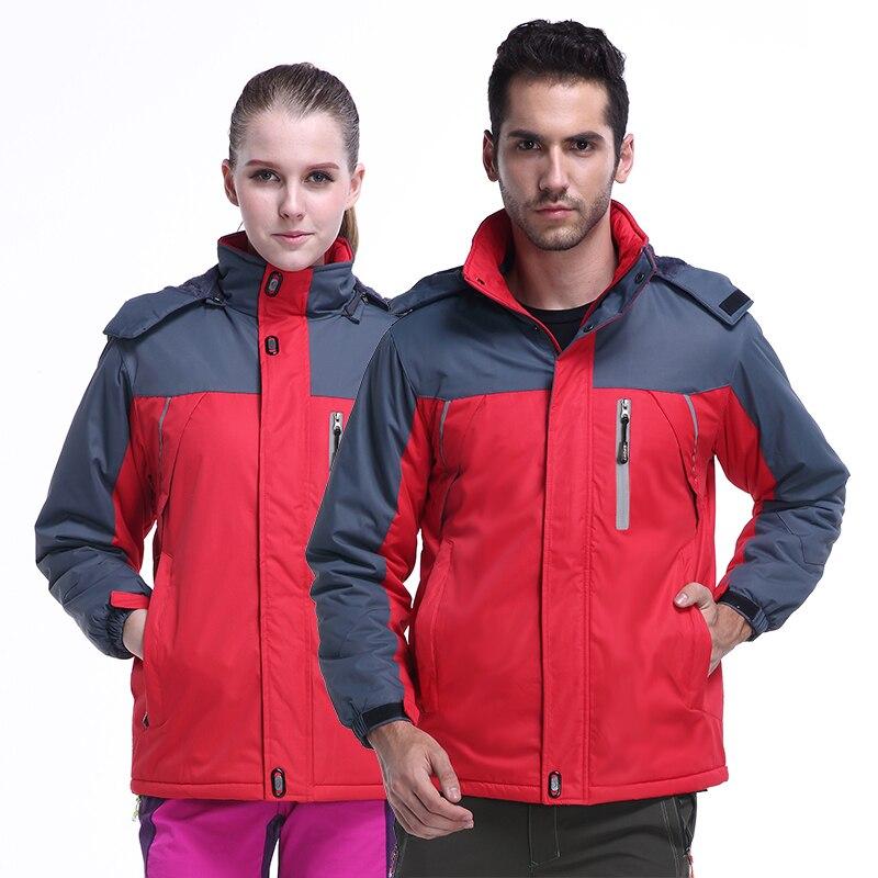 2019 hiver vestes thermiques en plein air Sport respirant coupe-vent imperméable manteau Camping randonnée Trekking Ski Softshell veste de pluie