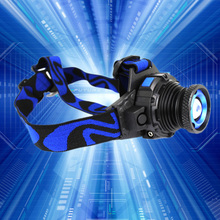 Headlamp T6 Waterproof 1000LM LED Headlight High Bright Built in Lithium Battery Rechargeable Head lamps 3