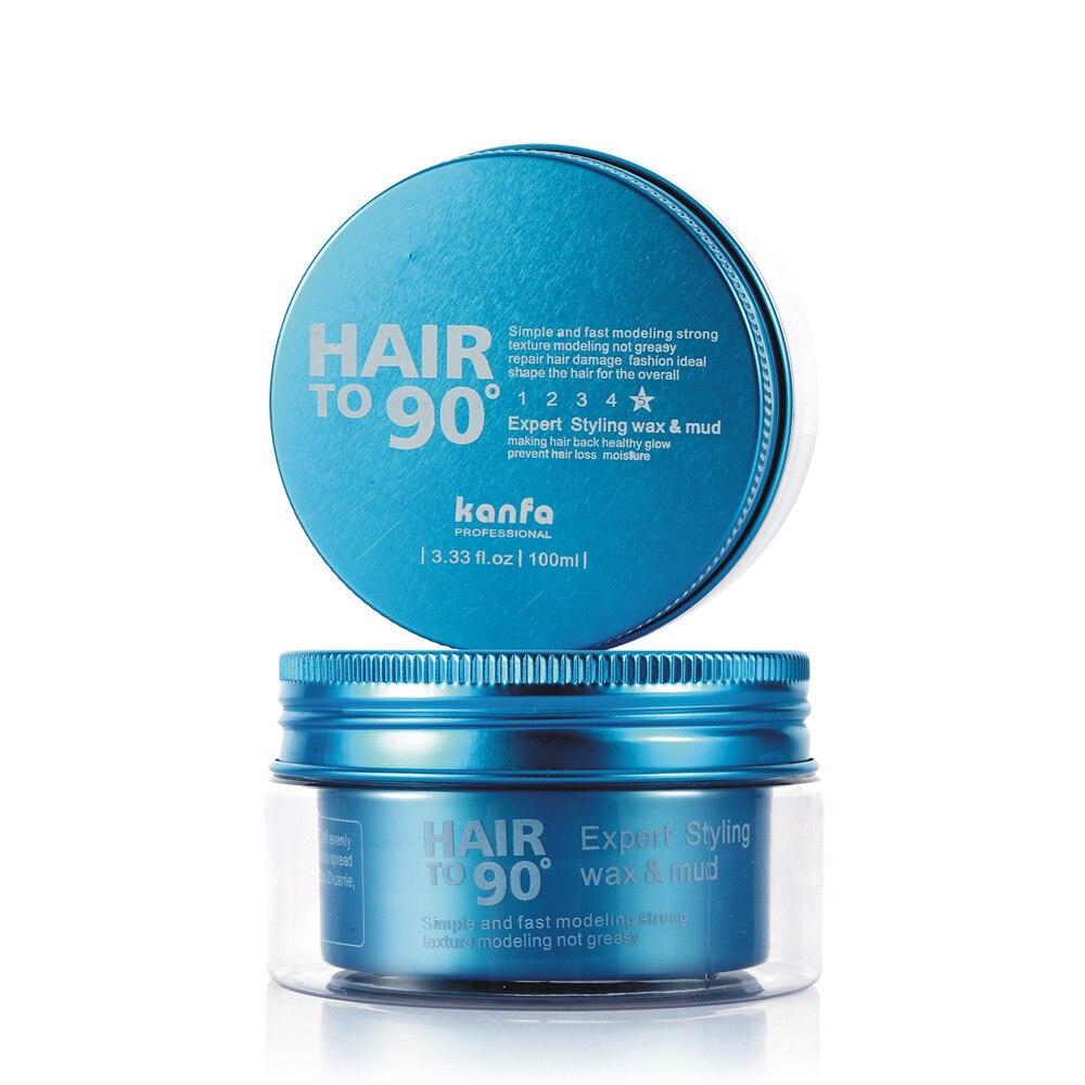90 grader oliven fugtgivende modellering hår voks modellering - Hårpleje og styling