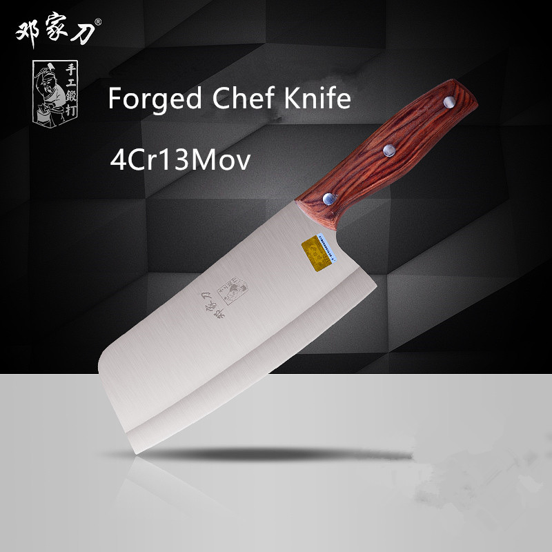 Free Shipping Forged Stainless Steel Kitchen Ladies Cooking font b Knife b font Professional Chef Slicing