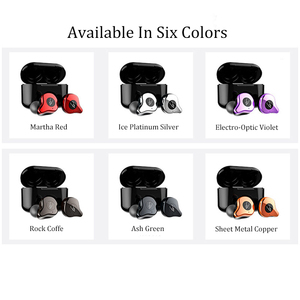 Image 5 - IPX7 Waterproof Mini Wireless Bluetooth Headset Noise Reduction Wireless Earbuds With Wireless Charging Function