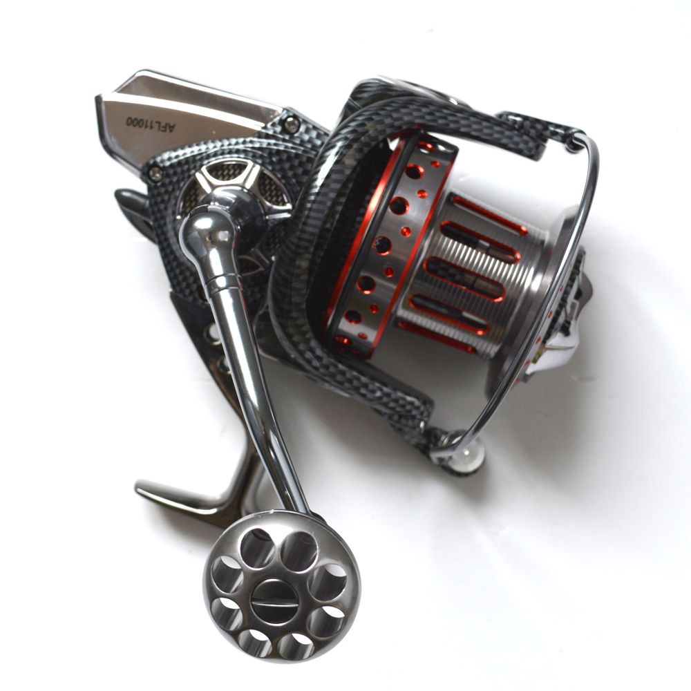 Fishdrops Full Metal Body Size 12000 Spinning Reels Big Trolling Reel Surf Reel Fishing Reel