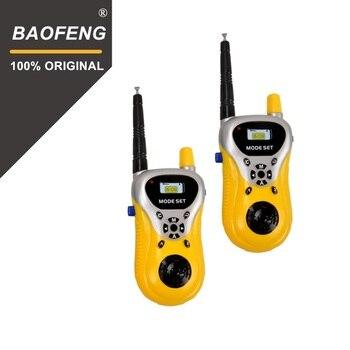 2Pcs/lot  Hot Sale Handheld Intercom Electronic Interphone Kids Mini Walkie Talkie Children Portable Two Way Radio Toy