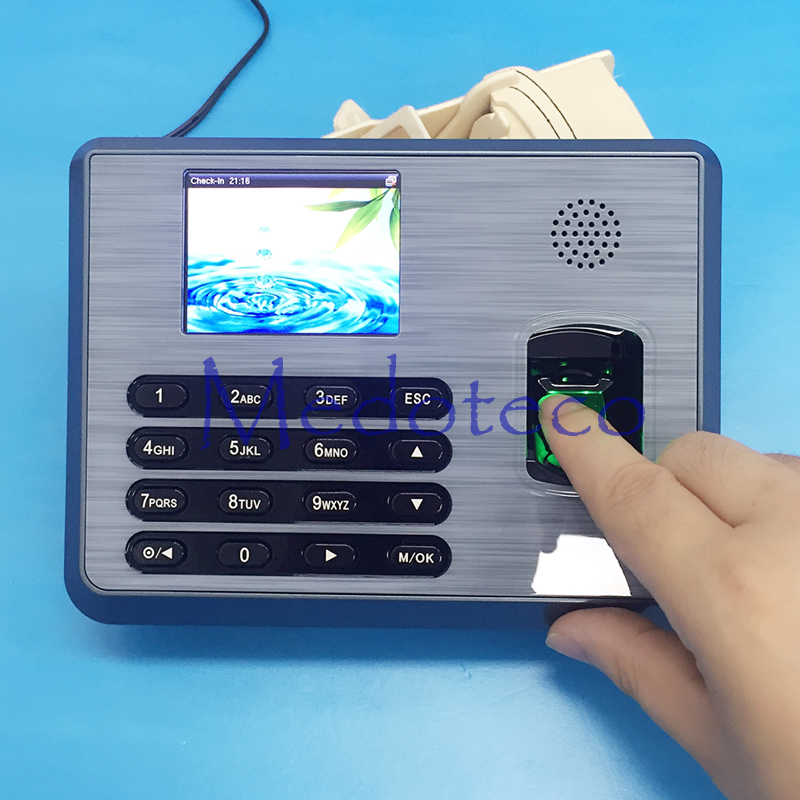 ZK TX628 TCP/IP Biometric Fingerprint Time Recording Employee Electronic Fingerprint Time Attendance