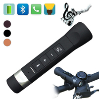 4 In 1 Outdoor Riding Cycling Portable Multi Functional Music Torch Bluetooth Speaker MP3 Flashlight FM
