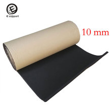 EE support 2Roll 100*50cm Car Motor Sound Proofing Insulation Deadening 10mm Close Cell Foam Auto Interior exterior Accessories