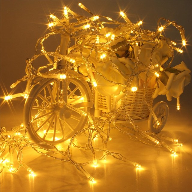 Best Promotion 4.5V String Fairy Light 5M 50LED Battery Operated Lamp  Christmas Wedding Party Decor - Best Promotion 4.5V String Fairy Light 5M 50LED Battery Operated