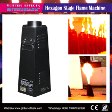 CE passed good quality six angle professional stage effects fire spray flame projector for dj night club show