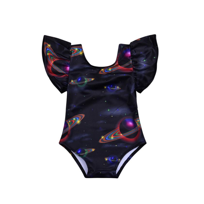 Children Swimsuit Kids Girl Swimwear Swims Swimsuits Romper Bathing Outfits Infant Kids  ...
