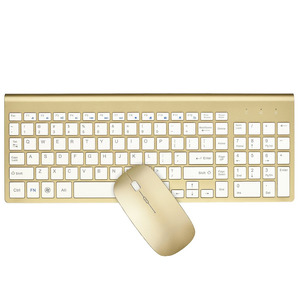 Image 5 - Ergonomic Ultra Thin Low Noise 2.4G Wireless Keyboard and Mouse Combo Wireless Mouse for Mac Pc Windows XP/7/10 Android Tv Box