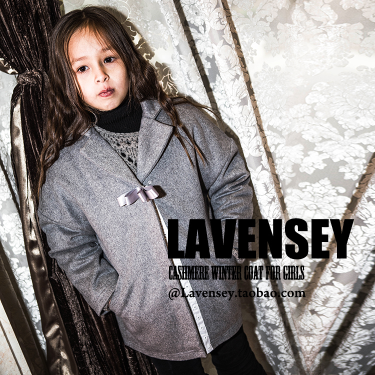 ФОТО Lavensey Original Design Wool Coat For Girls High quality Solid Color Coat For Girl Clothes Luxury Windbreaker Free Shipping