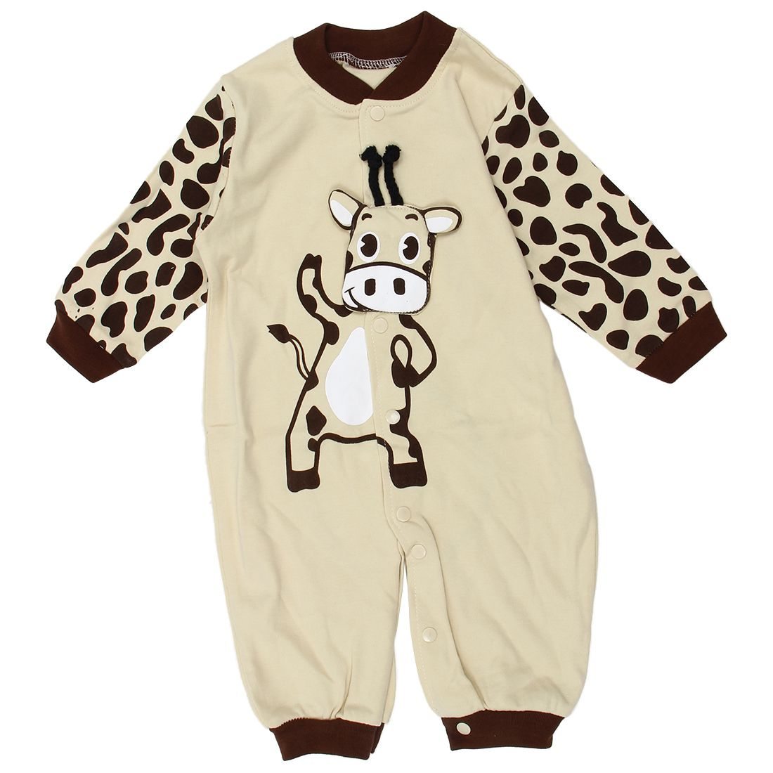 Cow Newborn Girls Boys Clothes Jumpsuit Baby Outfit Infant Romper Clothes