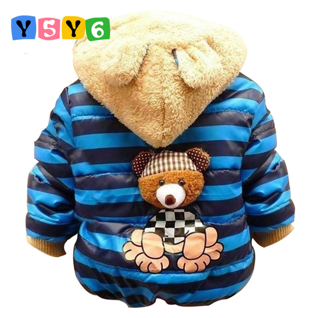 47134d5a0 Retail 2018 Baby boys Bear Winter Coat