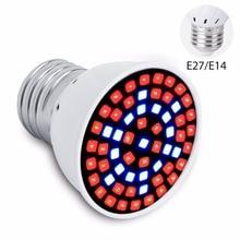 Phyto Led Plant Lights E27 Full Spectrum 220V Grow Bulb 6W 15W 20W Greenhouse Lamp For Vegetable Seedling Plants 85-265V