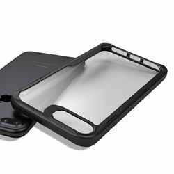 For Iphone 8 Case Iphone 8 plus case Luxury silicone frame + acrylic transparent back cover case for Iphone 8 7 7 plus 6
