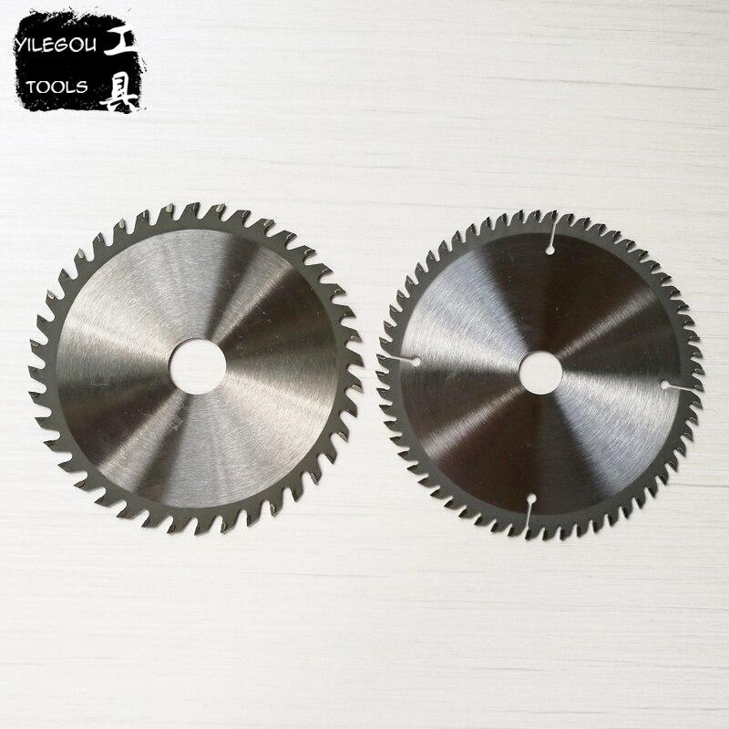 2 Pièces 6 150mm TCT Lames de Scie Circulaire Pour Le Bois 150*1.8*20mm * 40/60 Dents Carbure Lames de scie De Coupe Bois (alésage 25.4 ou 20mm)